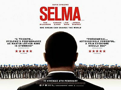"""SELMA 16"""" x 12"""" Reproduction Movie Poster Photograph"""