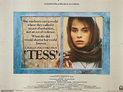 """Tess 16"""" x 12"""" Reproduction Movie Poster Photograph"""