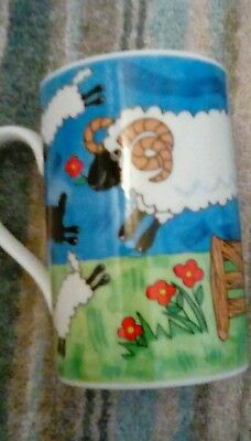 Dunoon Sheepies Mug Jane Brookshaw Design