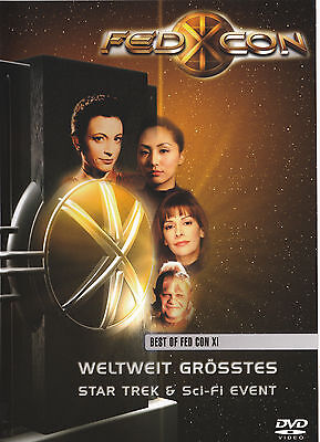Star Trek - Best of Fedcon XI 11 - Rare Convention DVD - Marina Sirtis Voyager