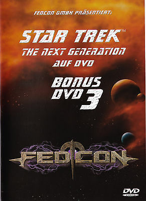 Star Trek - The Next Generation TNG - Fedcon Bonus DVD 3 - Enterprise Convention