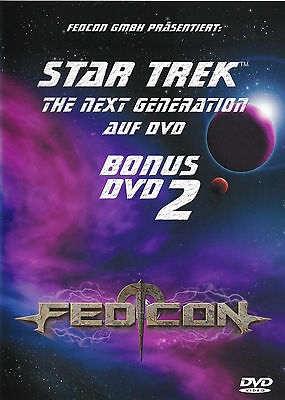 Star Trek - The Next Generation TNG - Fedcon Bonus DVD 2 - Enterprise Convention
