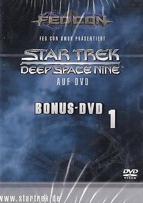 Star Trek - Deep Space Nine DS9 Fedcon Bonus DVD 1 Nana Visitor Chase Masterson
