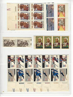 USA assorted blocks - MNH