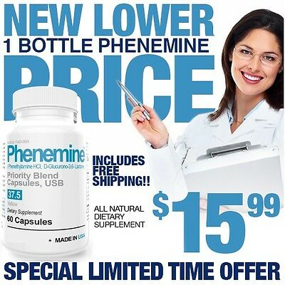 1CT Phenemine Lose Weight Loss Now Fast Curve Appetite Suppressant Diet Pills