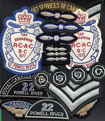 Lot Of 18 Royal Canadian Air Cadet Patches