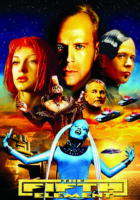 The Fifth Element 35mm Film Cell strip very Rare var_q