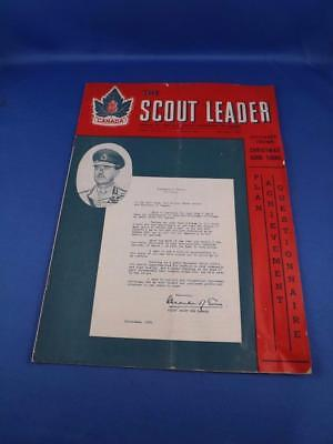 The Scout Leader Magazine December 1951 Plan Achievement Questionnaire Quests