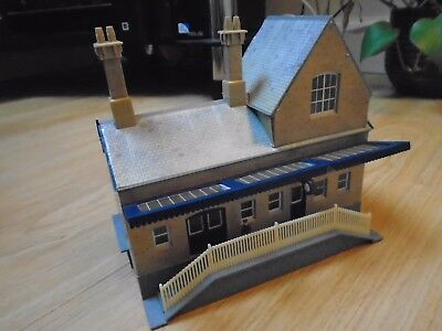Booking Hall for Hornby OO Gauge Train Sets