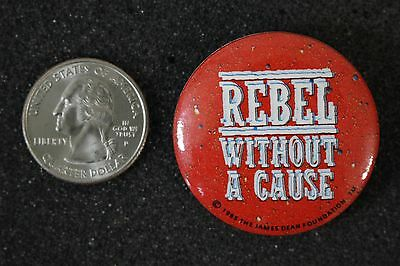 1985 James Dean Foundation Rebel Without A Cause Pin Pinback Button #16325