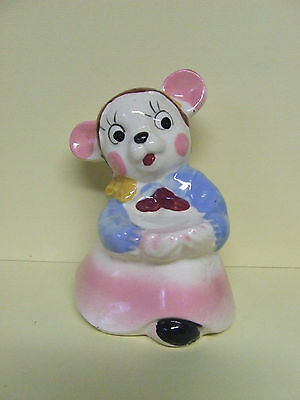 Vintage Anthropomorphic Bear Salt/Pepper Shaker (Japan)