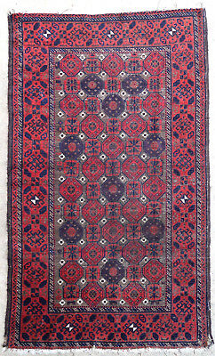 Tapis ancien rug oriental orient tribal ethnique Asie Centrale Baluch Pre-1900