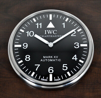 Iwc Schaffhaussen Mark Xv Automatic Clock Advertising Display