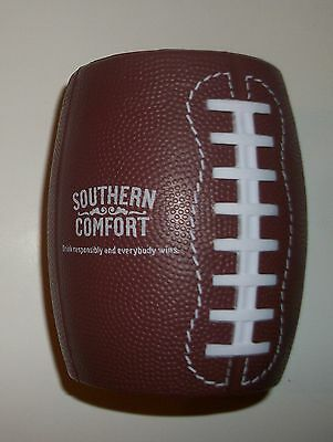 Southern Comfort Brown Football Can Koozie Can Cover