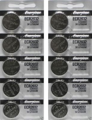 Lot of 50 Energizer ECR2032 New Fresh Date CR2032 2032 Lithium 3V Batteries