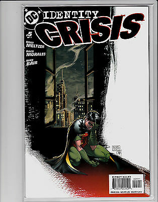 Identity Crisis #5 Michael Turner Cover First Print Brad Meltzer