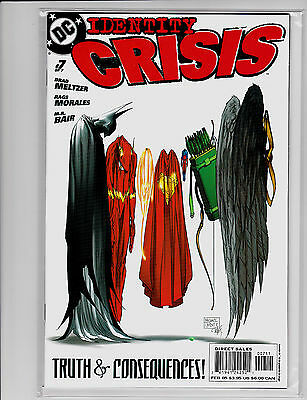 Identity Crisis #7 Michael Turner Cover First Print Brad Meltzer