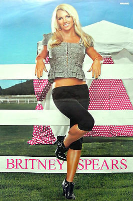 Britney Spears Poster + Tokio Hotel Poster on back
