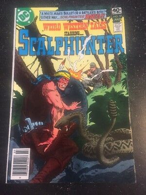 Weird Western Tales#57 Incredible Condition 9.0(1979) Scalphunter,Ayers Art!!