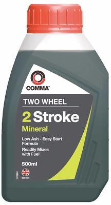 Comma 2T Mix Two Stroke Mineral Oil 500ml TST500M