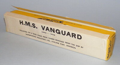 Triang Minic Ships M741 Hms Vanguard 1960 Issue Empty Promotional Box Only