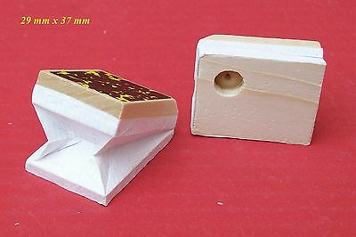 New Cuckoo clock replacement bellow tops.  29 mm wide  x  37 mm long.