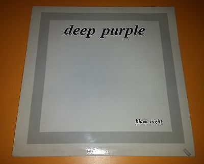 LP VINYL Deep Purple ‎– Black Night (Live In Stockholm 1970)