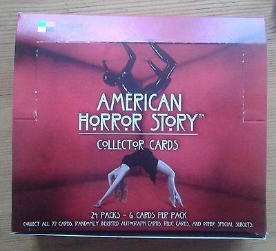 American Horror Story Season One 1 empty trading card box (no cards or wrappers)