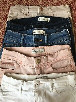 Abercrombie Kids Girls Size 9/10-10 Shorts Clothes Lot FREE SHIPPING
