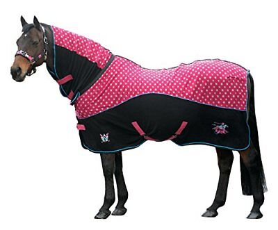 Tottie Cosmic Dual Layered Full Neck - Material para dirigir al caballo, color