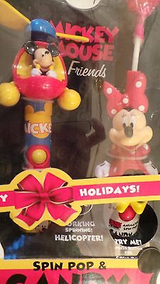 Disney Mickey Mouse and Friends - Spin Pop and Candy Fan Gift Set