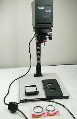 Jessops 3500 Enlarger + 2 Close Ups + Dev Tank with 2 Reels - In Good Condition