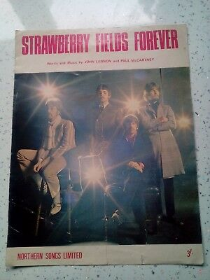 The Beales Strawberry Fields Forever Sheet Music