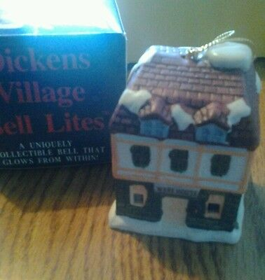 Dickens Village Bell Lights Ornament Warehouse