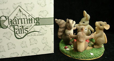 "Fitz & Floyd Charming Tails ""Ring Around The Rosie"" Club Exclusive 97/15"