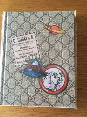 New!! RARE!! GUCCI Notebook GG Pattern Japan Magazine 116 Pages
