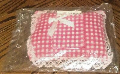Vintage Tooth Fairy Pillow with Lace trim Artmark NIP