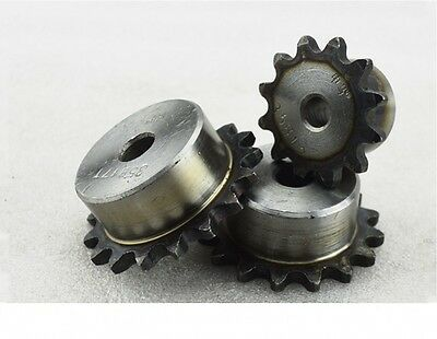 25# 11T Chain Drive Sprocket Pitch 6.35mm 04C11T Outer Dia 25mm For #25 Chain