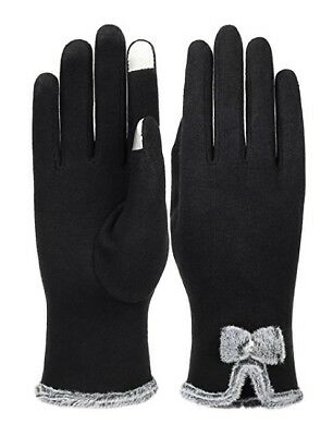 Womens Touch Screen Warm Gloves Windproof Winter Lined Thick Gloves | FAST SHIP!