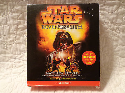 STAR WARS Revenge of the Sith Audio Book on 11 CDs USED