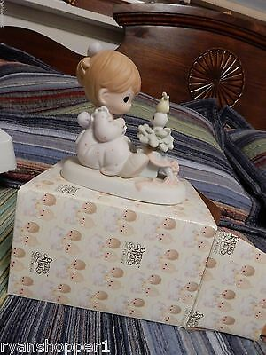 """Precious Moment's Figurine 1996, """"My True Love Gave To Me""""  With Box"""