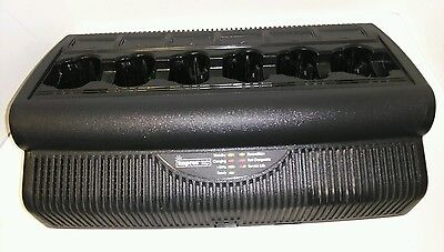 Motorola Impress WPLN4121BR 6-slot Battery Charger