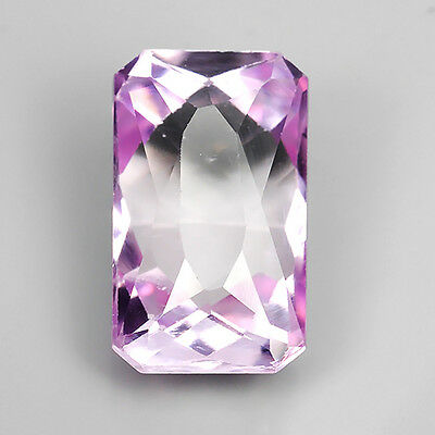 13.20 Ct Beautiful Untreated Pink Natural Kunzite Octagon Cut Loose Gemstones