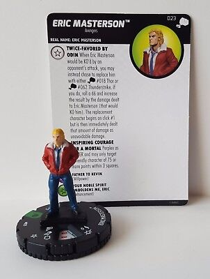 Eric Masterson #023 The Mighty Thor Marvel Heroclix Uncommon #23