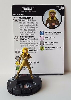 Thena #015 The Mighty Thor Marvel Heroclix Common #15