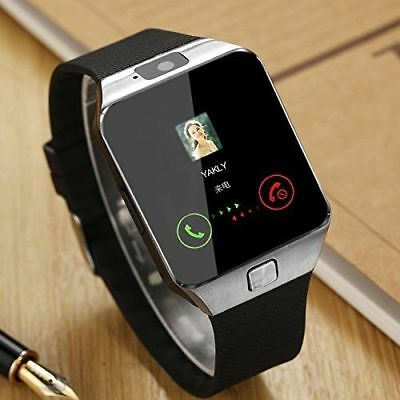 Bluetooth Wrist Fitness Smart Watch GSM SIM Phone For Android Samsung iOS Camera