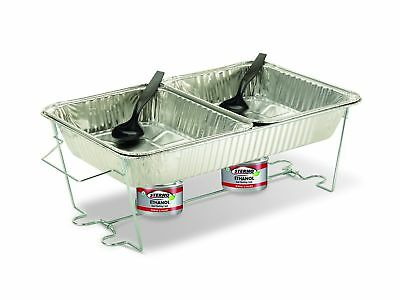 Catering Chafer Chafing Dish Size Buffet Kit Deep Pans Disposable Aluminum Foil