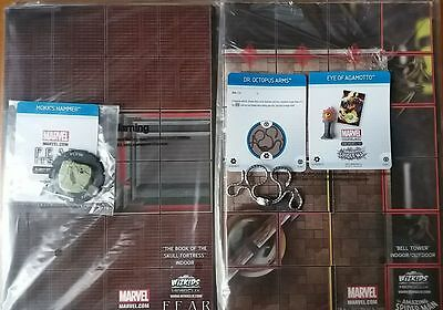 Heroclix Marvel Fear ItSelf + The amazing spiderman OP KIT