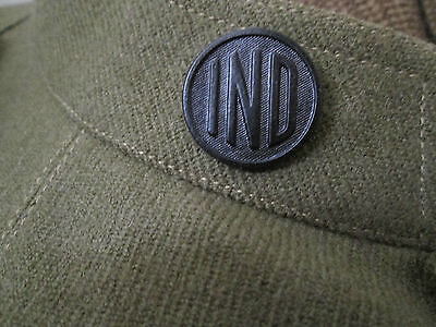 WWI Indiana Collar Disk
