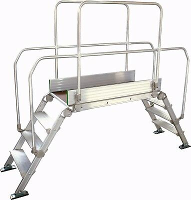 Bridging Steps Work Platform - Industrial Bridging Platform - 1200mm Platform